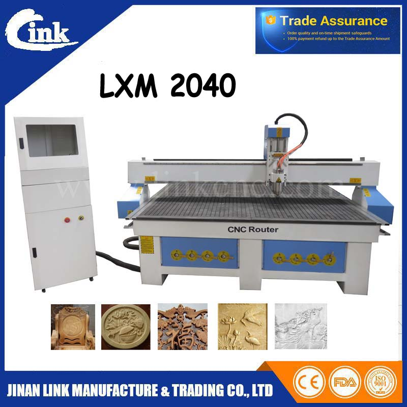 Gold quality 8mm frame cnc router with rotary/water cooled spindle ...