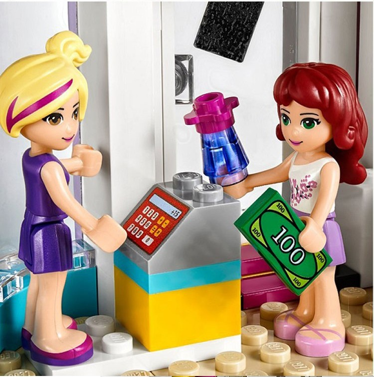 Compatible With Lego Lepi 41093 Friends Series Heartlake Hair Salon