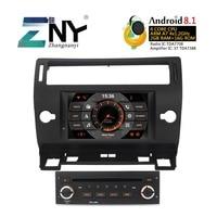 7 HD Android 8,1 автомобильный стерео gps для Citroen C4 C Triomphe C Quatre 2004 2005 2006 2007 2008 2009 DVD Радио FM Wi Fi Navi Камера