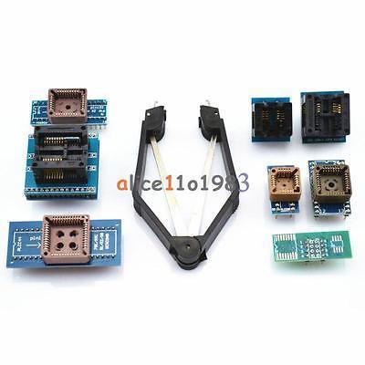 Kit Soquetes para TL866CS Programador 8 Adaptadores, TL866A, EZP2010 com IC Extractor