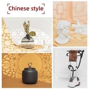 Image 3 - AMBITFUL AL 16 למקד חרוטי Snoots אור צל תבנית דוגמנות חתיכה עם סיני מודרני חלון פסטורלי סגנון