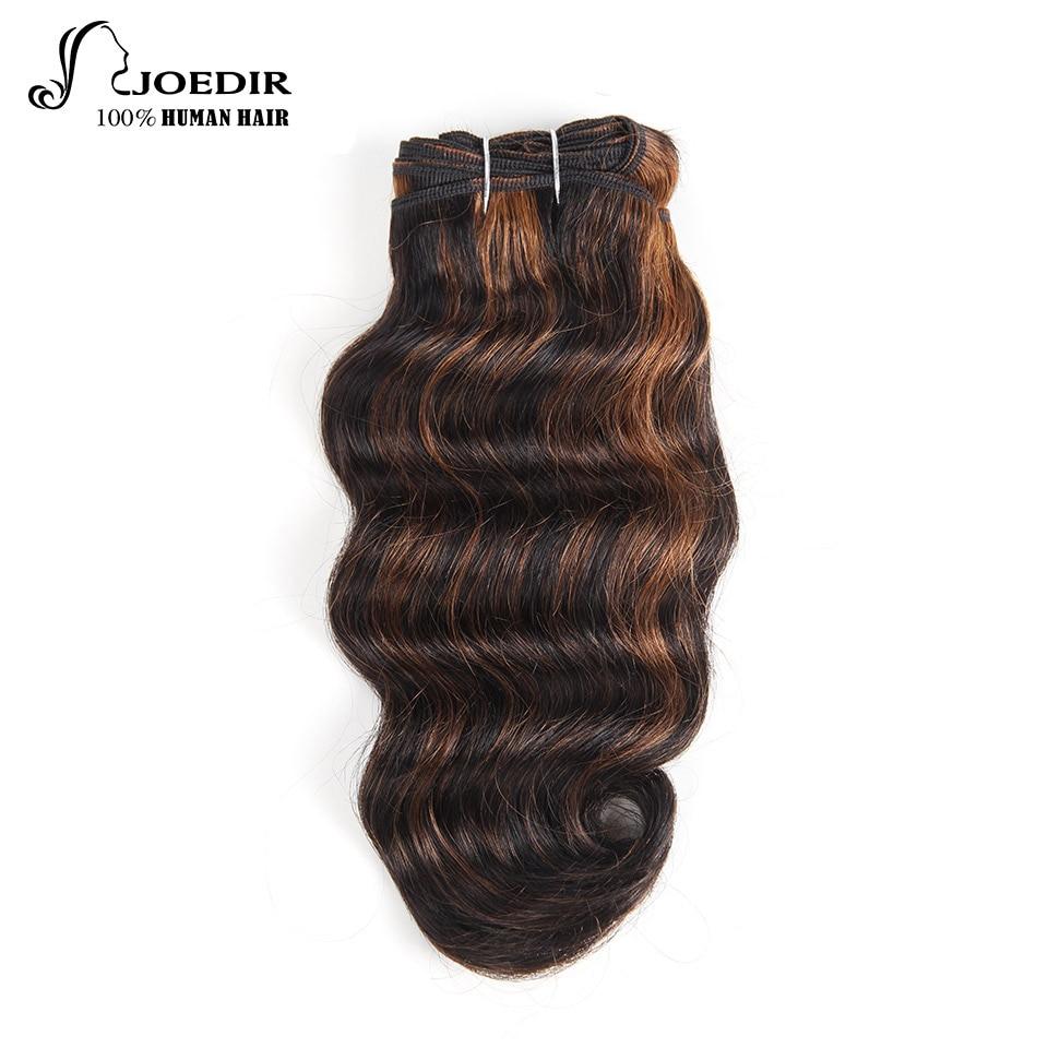 Joedir Pre-colored Indian Deep Wave Human Hair Bundles 100g Honey Blonde Hair Weave 1 Bundle 27# Hair Extensions Wide Selection; Hair Weaves Hair Extensions & Wigs