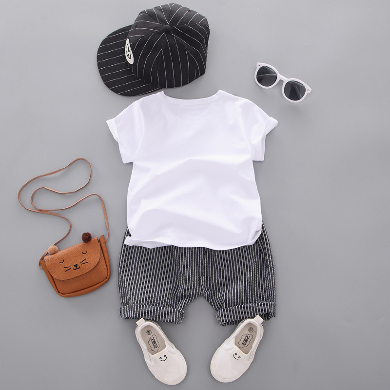 New Summer Leisure Children 39 s Short Sleeve Suit in Clothing Sets from Mother amp Kids