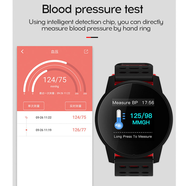 MAFAM Smart Watch Sport Watch Fitness Tracker IP67 Waterproof Smartwatch Running Cycling Mountaineering For IOS Android Watch