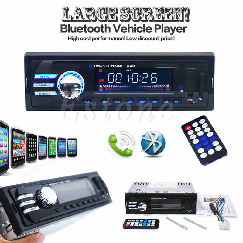 Car SD USB MP3 Radio Player 2023 Audio Stereo In Dash FM Aux Input Receiver G6KC