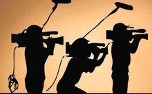Камера Винил Наклейки На Стены Фотограф Видео Съемочная группа Стены Искусства Настенной Росписи Стикер Фото Студия Кинокомпании Украшения Дома