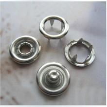 50 компл. 3/8 дюймов 9.5 мм с открытым кольцо не пришить защелки крепеж для шитья ремесла