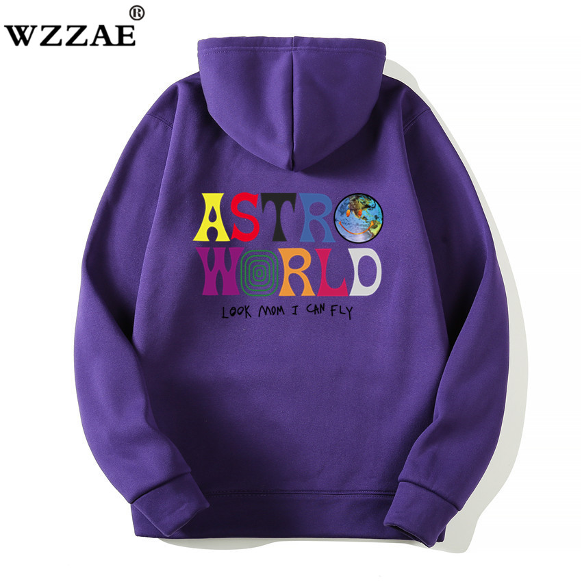 Fashion Letter ASTROWORLD HOODIE street wear Man woman Pullover Sweatshirt 20