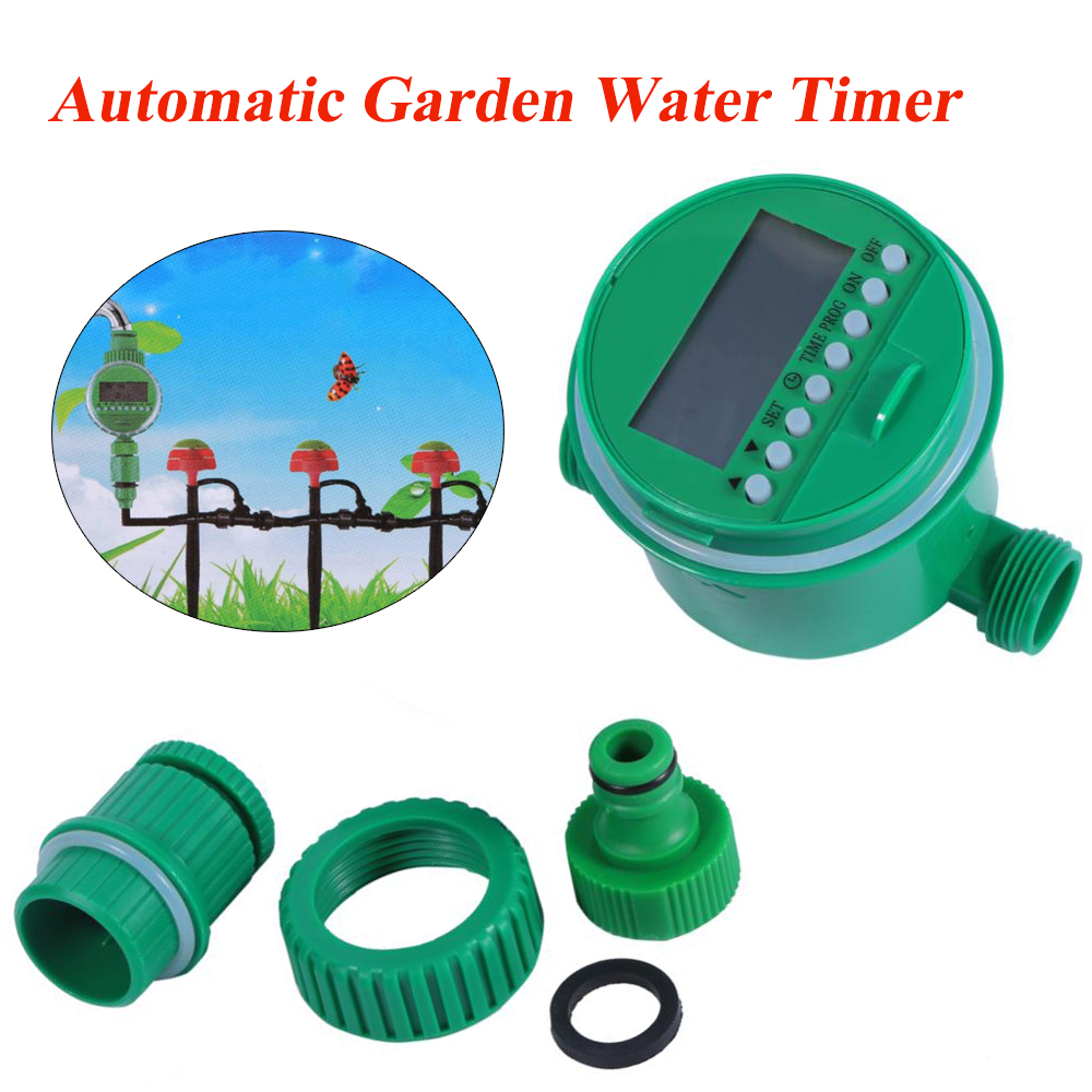 Automatic Garden Irrigation Timer Digital LCD Electronic Water Timer Garden Irrigation Controller Programs 。(China)
