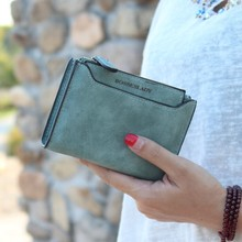 Women Wallet 2019 Small Pu Leather Female Purse Many Departments Ladies Card Holders Girl Coin Pocket