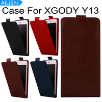AiLiShi For XGODY Y13 Case Hot Sale PU Protective Cover Skin Luxury Flip New Arrive Leather Case In Stock With Card Slot