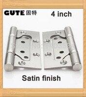 4 Inch Stainless Steel Lash Hinge Door Hinge Satin Finish Furniture Hinge