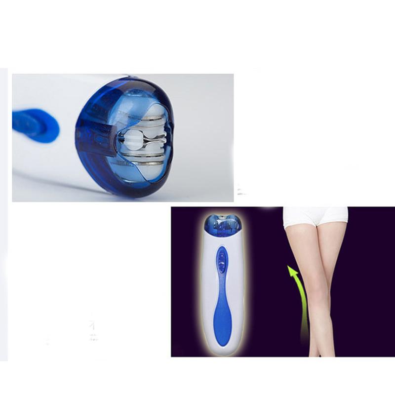 Lady Epilator Electric Shaving Scraping Women Bikini Underarm Hair Remover Shaver Depilacion Full Body Use Skin care Beauty Tool 12