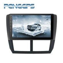Octa Core 2 Din Stereo Android 8.0 Radiofonico Auto per Subaru Forester Impreza 2008-2013 di Navigazione GPS CD DVD FM 1080 P Unità