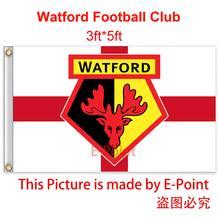 England Watford FC decoration Flag B 3ft*5ft (150cm*90cm)