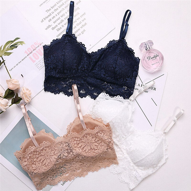 Ladies Padded Underwired Nude Bra with Lace 34 36 b a f S66