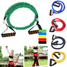 Yoga Stretch Band Resistance Bands fitness band Health Fitness Rope Home Equipment D35