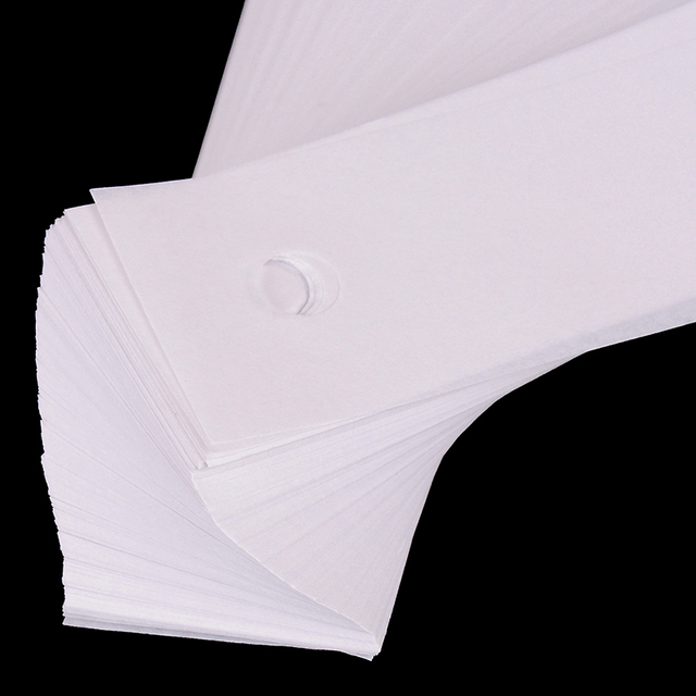 450 Sheets Optical Chin Rest Paper Optical Chin Rest Paper Slit Lamp ARK Paper For Ophthalmic Equipments Per Pack Rest Paper