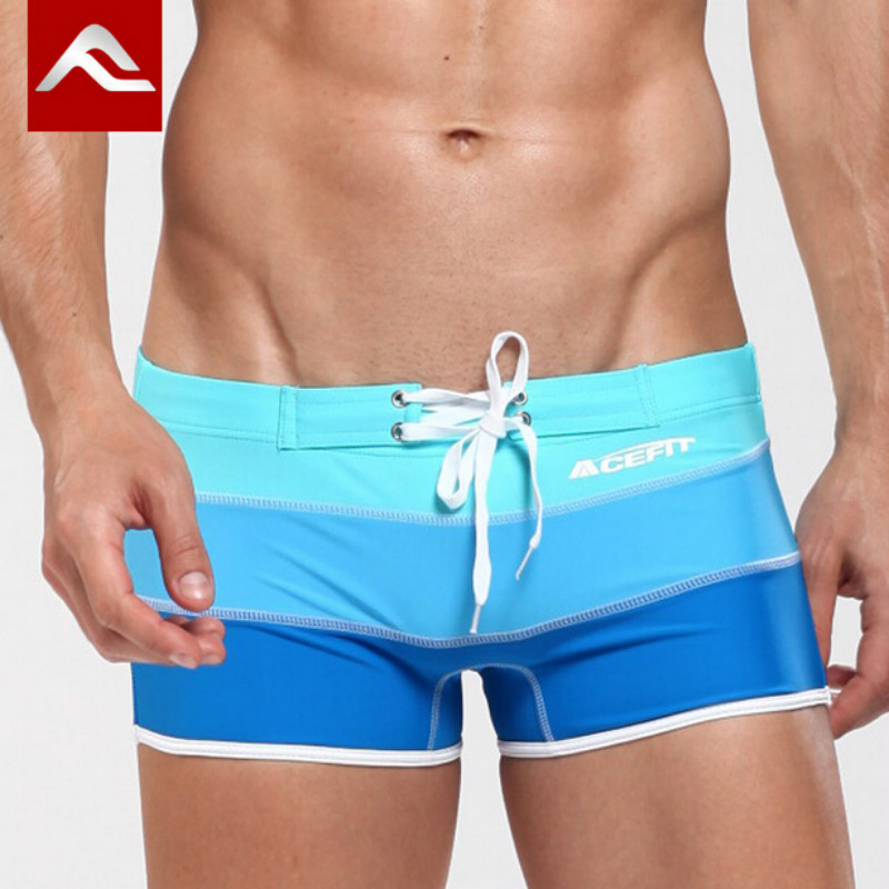 d8707e13285 Aliexpress.com : Buy ACEFIT Brand Swimming Trunks Swimsuit Man Gay Swimwear  Mens Boxer Sexy Bathing Suit Swiming Shorts For Male Swim Wear 2016 M XXL  from ...