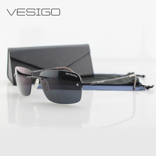 New Rimless Sunglasses frem men Sports Sun Glasses for Men Nylon Lens Mens Womens Sunglasses Men Black P9072