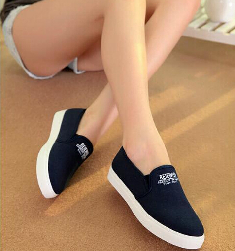 0d7f8f62 2015 alpargatas para ayudar a zapatos bajos de un pedal de verano perezoso  para mujer zapatos planos respirables de fondo plano para mujer zapatos  mocasines ...