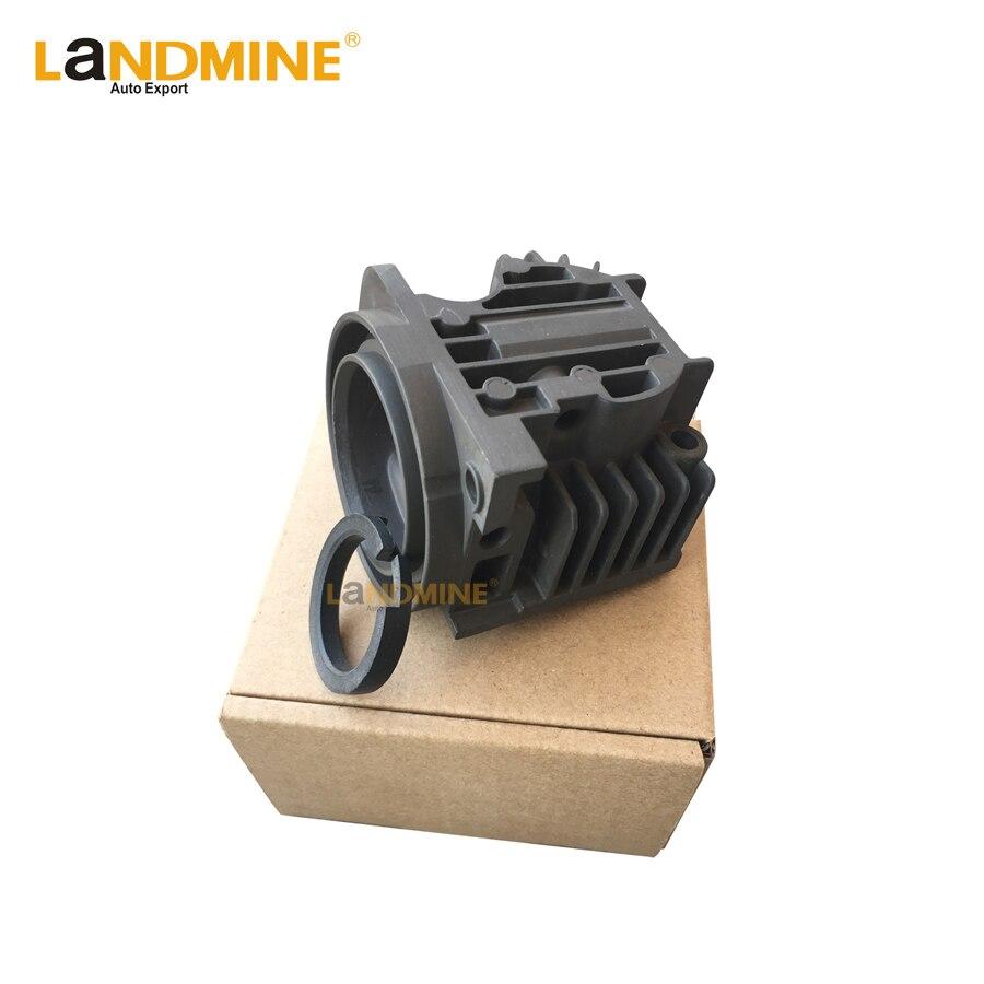 Free Shipping Air Suspension Pump Cylinder Head With Rings Repair Kits For X5 E53 A6 Q7 LRRangeRover L322 4L0698007A