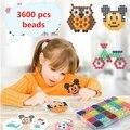 24 Kleuren 3600 stks Waternevel Aqua Hama Kralen DIY Kit bal Puzzel Game Fun handmaking 3D puzzel Educatief Speelgoed Voor Kinderen