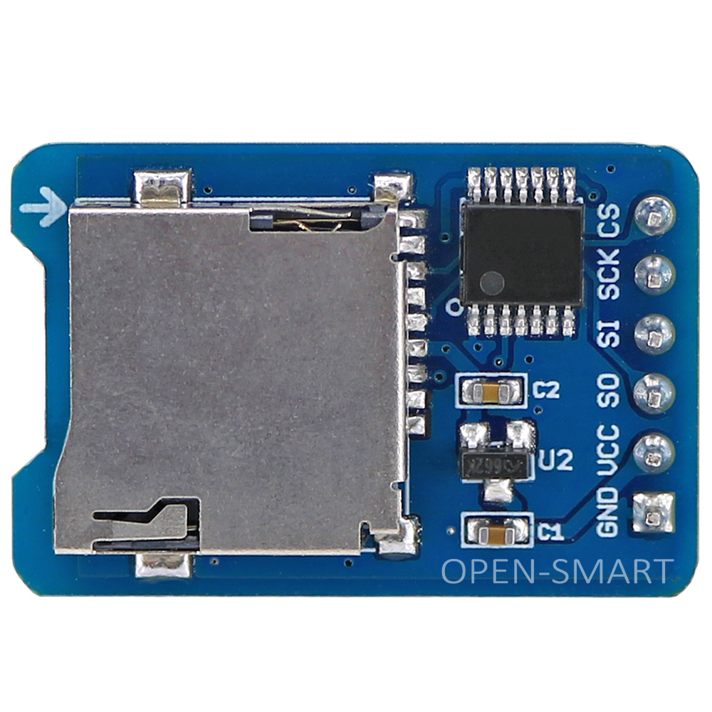 Micro SD Card Module TF Card Reader For Arduino / RPi / AVR SPI Interface 3.3V / 5V Compatible