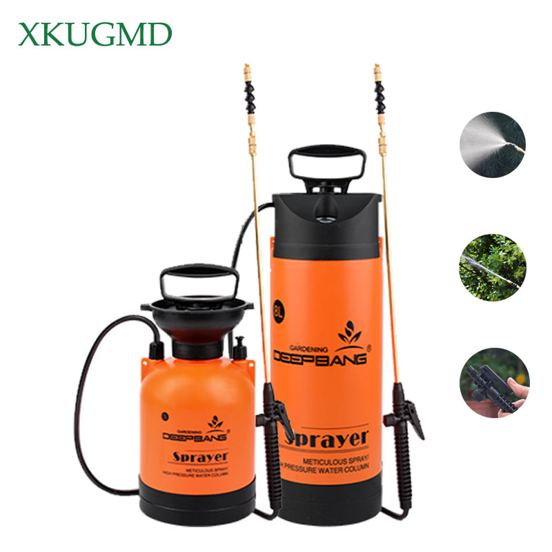 Household 3L/5L/8L Stainless Steel Watering Can Multifunctional Automatic Watering Can Garden Plant Irrigation Spray ToolHousehold 3L/5L/8L Stainless Steel Watering Can Multifunctional Automatic Watering Can Garden Plant Irrigation Spray Tool