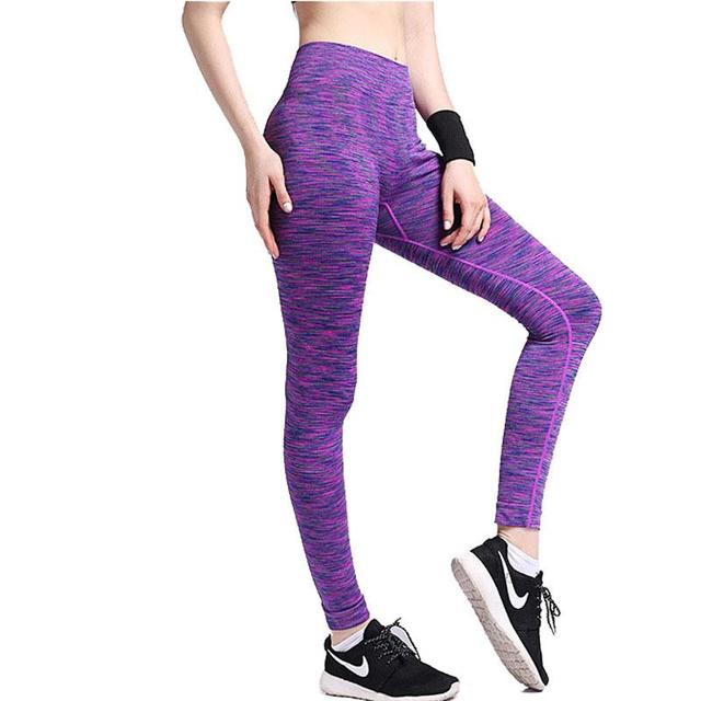 Women's Leggings Quick Drying Leggings Fitness Trousers Professional Apparats Elastic Sweats Leggins 0264