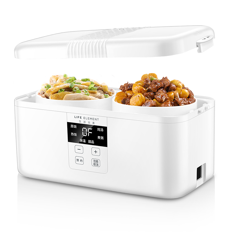Intelligent Automatic Electric Lunch Box Small Multi function Rice Cooker Family Appointment Timing Smart Touch LCD