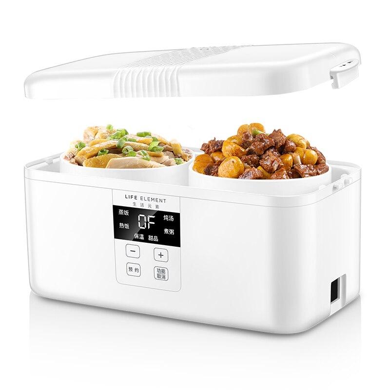 Intelligente Automatische Elektro Lunch Box Kleine Multi funktion Reiskocher Familie Termin Timing Smart Touch LCD Monitor-in Reiskocher aus Haushaltsgeräte bei  Gruppe 1