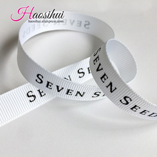 1-1/4(32mm) personalized grosgrain ribbon printed brand DIY for wedding/biz/party decoration/baby shower 100yards/lot