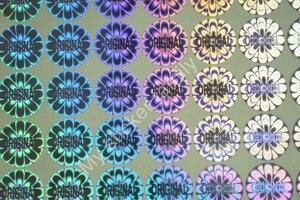 Image 1 - ORIGINELE hologram sticker voor verpakking en producten Kleuren zijn in zilveren en gouden Gratis verzending