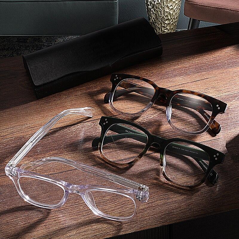 OV5236 ヴィンテージ光学近視メガネ眼鏡フレーム Afton メガネフレームに偏光ブランドサングラス oculos デゾル  グループ上の アパレル アクセサリー からの 眼鏡フレーム の中 1