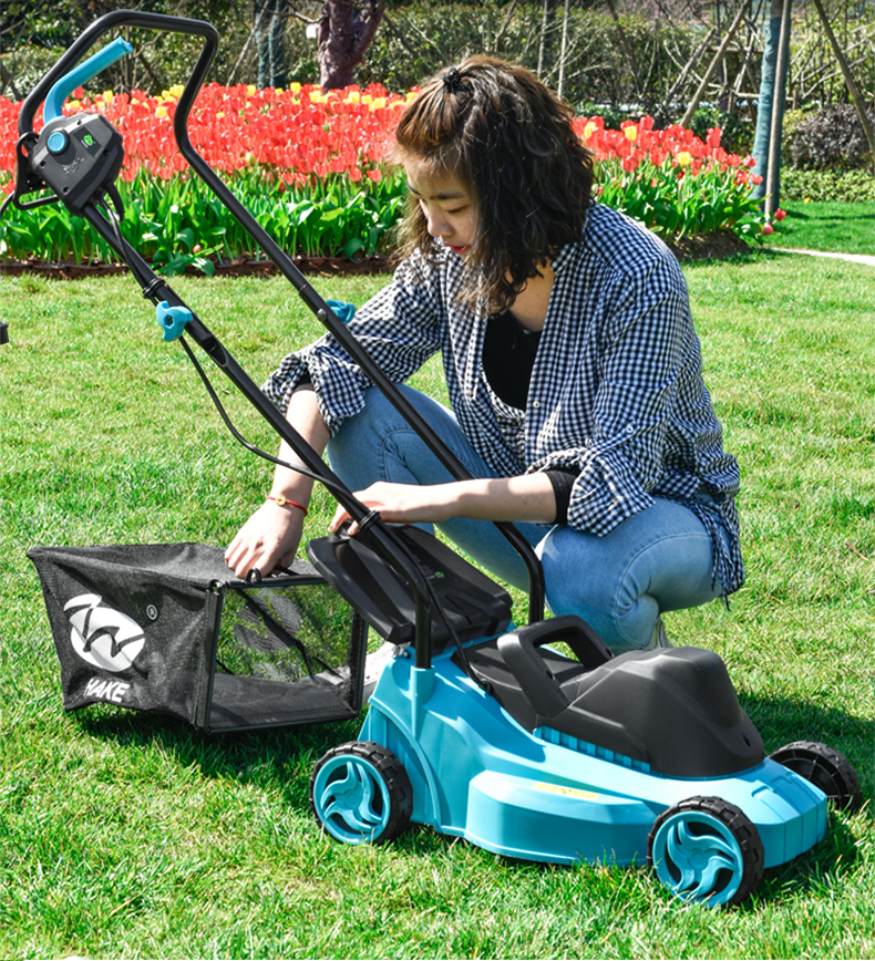 Portable AC1200W Electric Push Mower/Artificial Mower