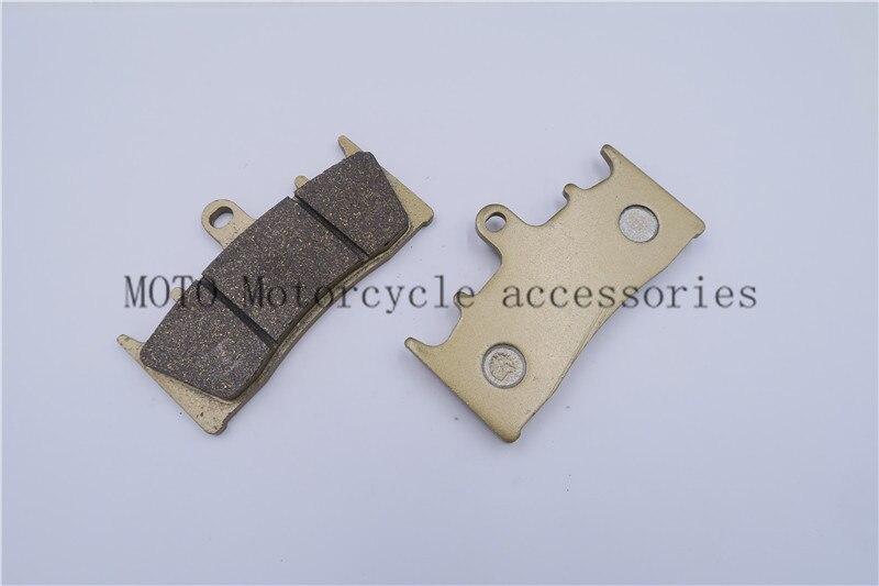 Мотоцикл тормозные колодки для Kawasaki zrx 1200 R 2001-2006 2007 2008 для Suzuki GSX 1400 2001-07 GSX 1300 1999-2007 передние тормозные колодки