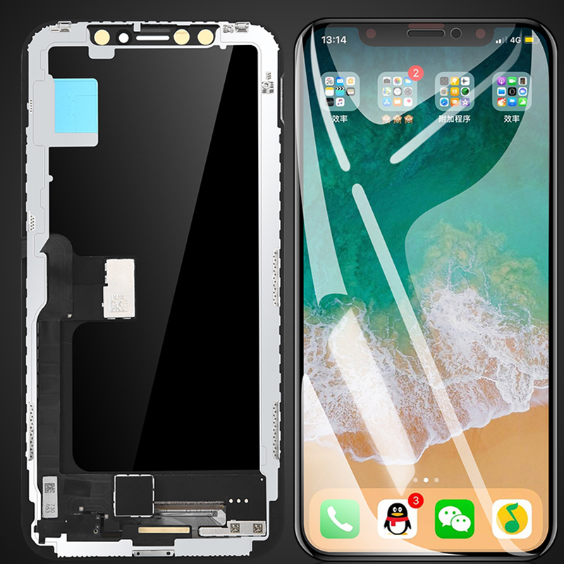 FERISING 100% AAA Original LCD Display For Apple iPhone X XR XS MAX Replacement Display Touch Screen Digitizer Assembly + toolsFERISING 100% AAA Original LCD Display For Apple iPhone X XR XS MAX Replacement Display Touch Screen Digitizer Assembly + tools