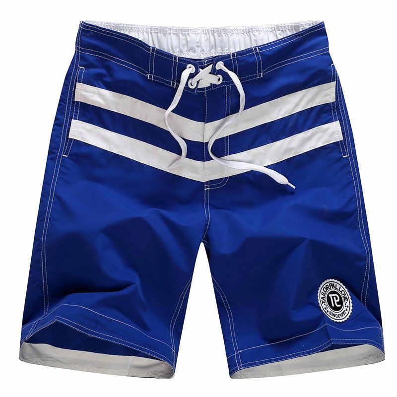 Men's Fashion Board Shorts Map Splice Beach Shorts For Men sungas de praia homens 2018 Hot Sale plus size swimwear 1510#