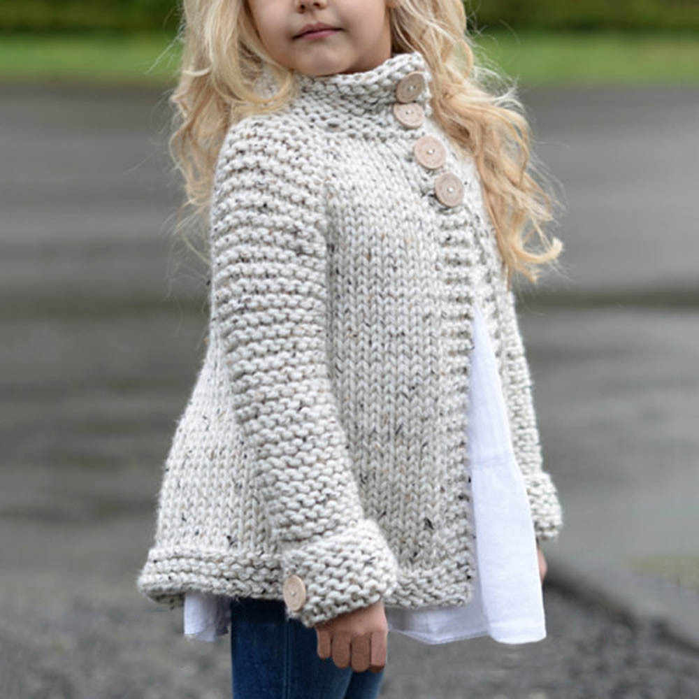 4ddf1f505 Detail Feedback Questions about Girls Solid Color Sweater Z Knit ...