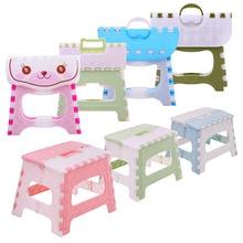 Пластиковый складной стул для детей, для маленьких мальчиков и девочек, портативный уличный стул для кемпинга