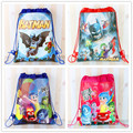 12 unids super hero superman batman inside out cartoon kids morral del lazo comercial escuela viajan bolsos de fiesta