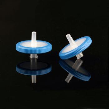 100 sztuk pożywek do hodowli tkankowych 33mm 0 45um mikronów publicznych służb zatrudnienia filtrów strzykawkowych do HPLC tanie i dobre opinie 132PESJ Lejek Micron PES Syringe Filters Carton ISO CE