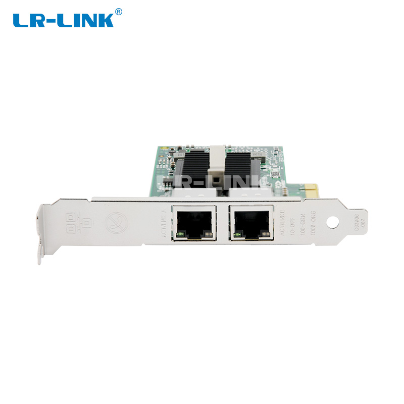 Image 4 - LR LINK 9212PT  Gigabit Ethernet Card Network Adapter PCI Express x1 Dual Port RJ45 Lan Card PC Intel 82576 Compatible E1G42ET-in Networking Storage from Computer & Office
