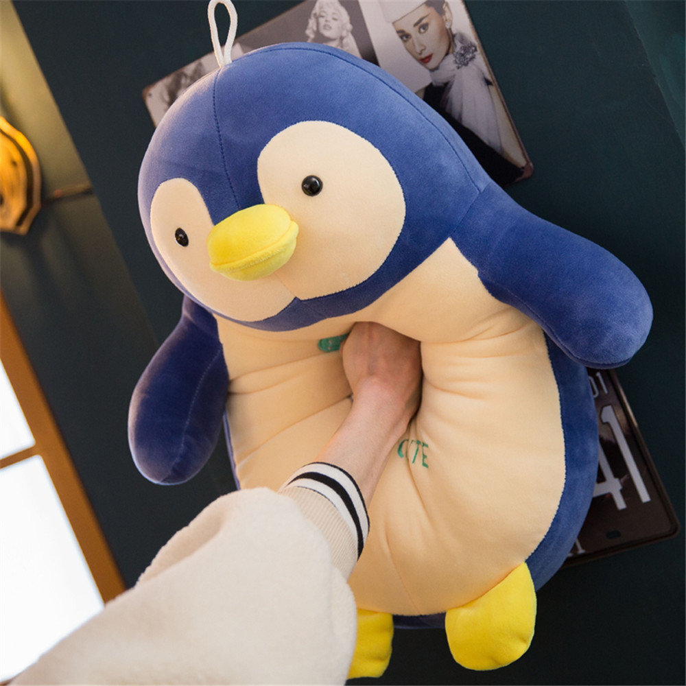Fancytrader Soft Fat Animal Penguin Plush Toy Big Stuffed Cartoon Penguins Anime Pillow Doll for Baby Gift 20inch 50cm fancytrader lovely soft cartoon fox plush toy stuffed animal fox dog doll pillow creative decoration gift 47inch 120cm 3 colors