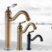 Good Quality Single Lever Hot and Cold Bathroom Faucet Deck Mount Rotation Kitchen Mixer Taps