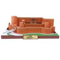 Agra Fort, indien Handwerk Papier Modell Architektur 3D DIY Bildung Spielzeug Handmade Adult Puzzle Spiel