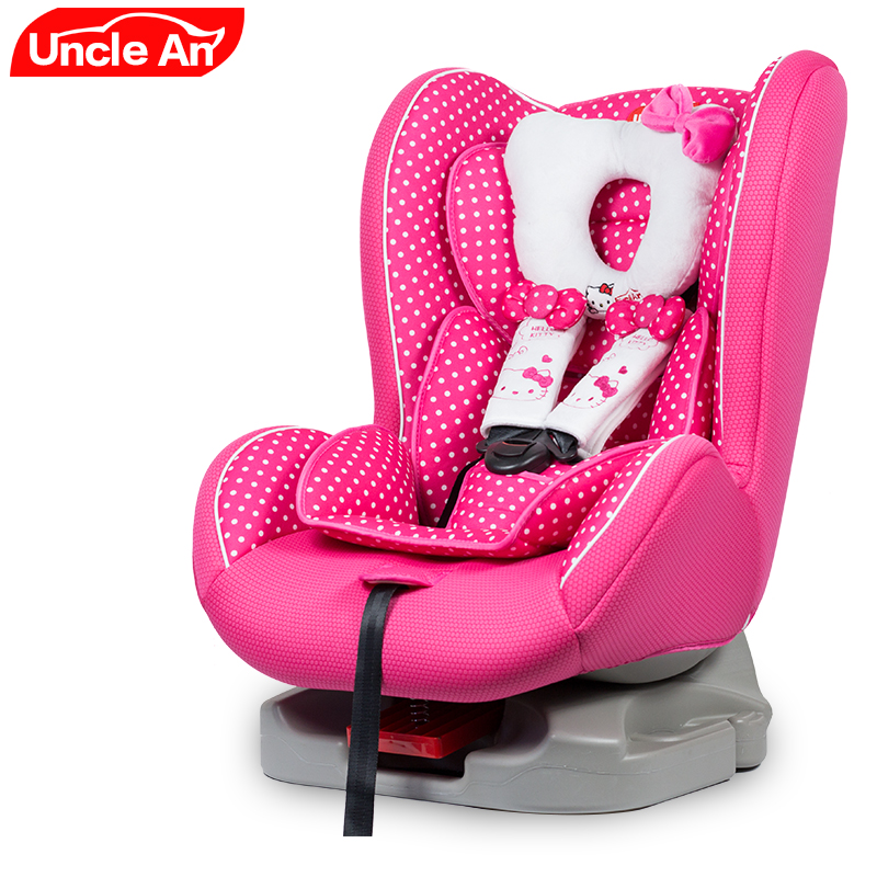 Cute Cartoon pattern Convertible Child Safety Car Seat can sit & lie& sleeping, Child Chair in the car Baby Car Seats graco smart seat allinone convertible car seat jemma