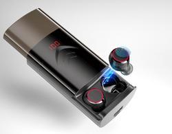 HobbyLane T9 TWS bezprzewodowy zestaw słuchawkowy Bluetooth 5.0 słuchawki Stereo słuchawki HIFI słuchawki douszne z 6000mAh etui z funkcją ładowania Earset d25