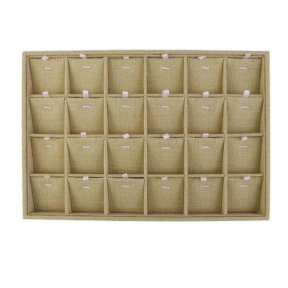 18 Slots Stud Earring Storage Jewelry Display Stands Tray Box  Jewlery Containeranizer
